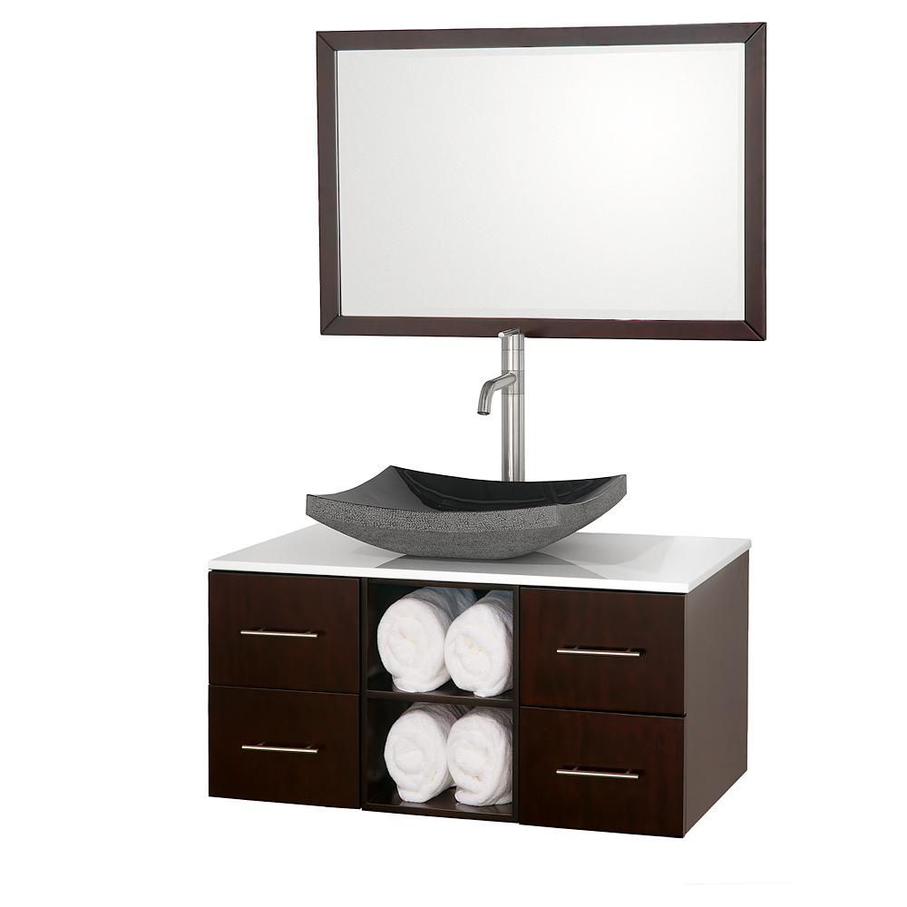 Abba 36 Inch Single Bathroom Vanity In